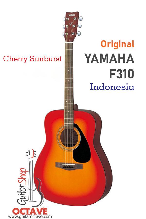 Yamaha F310 Dreadnought Cherry Sunburst 100 Authentic Yamaha Octave Guitar Shop Bd