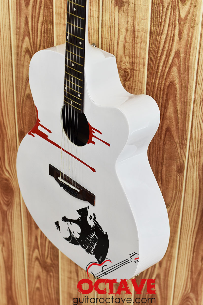 Signature Gogo's Blade with electric Output & Sound Control system – White 7