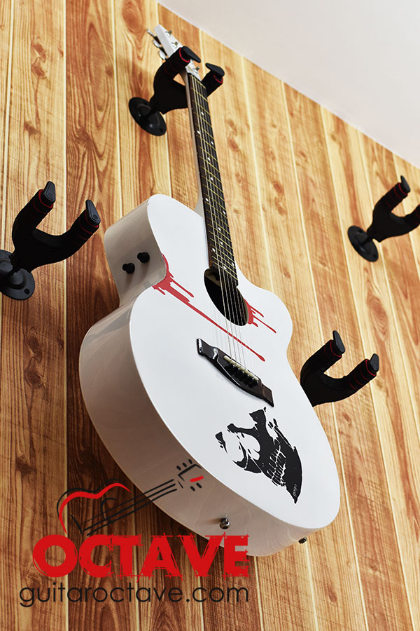 Signature Gogo's Blade with electric Output & Sound Control system – White 6